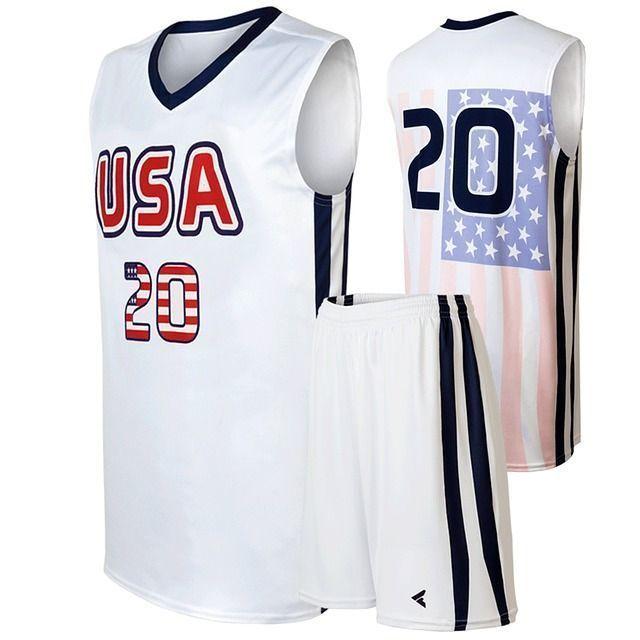 personalizada, baloncesto, uniformes
